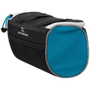 B'TWIN(ビトウイン) HANDLEBAR BAG 2.5L BLACK/BLUE