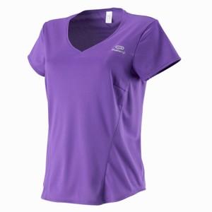Kalenji(カレンジ) ESSENTIAL ランニング Tシャツ レディース XS(日本サイズS) PURPLE 8198762-1437366
