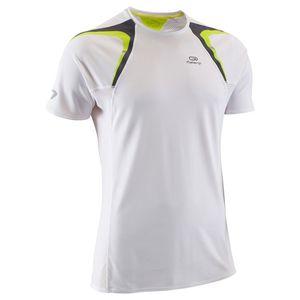 Kalenji(カレンジ) KIPRUN ランニング Tシャツ メンズ S WHITE/GREEN 8296509-1780929