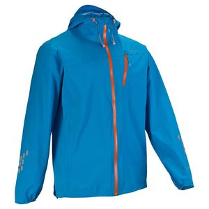 【送料無料】Quechua(ケシュア) HELIUM レインジャケット メンズ L LIGHT BLUE 8302504-1822484