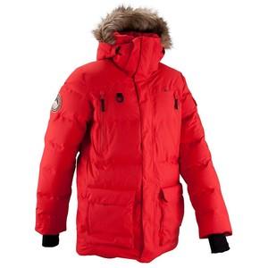 【送料無料】Quechua(ケシュア) ARPENAZ 1000 フード付きレインダウンジャケット メンズ L RED 8318048-380523