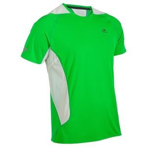 Kalenji(カレンジ) ELIOFEEL ランニング Tシャツ メンズ L GREEN/WHITE 8325734-537736