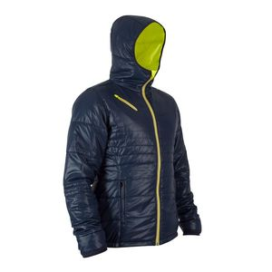 B'TWIN(ビトウイン) TILT URBAN サイクリング ジャケット メンズ L BLUE 8348672-1857055