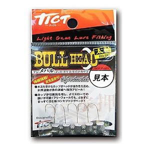 TICT(ティクト) BULL HEAD(ブルヘッド)太軸 1.0g BH-B65