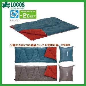 【送料無料】ロゴス(LOGOS) ミニバンぴったり寝袋-2(冬用) 72600240
