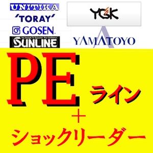 YGKよつあみシンキングPE GESO−Xパワータイプ 120m+オリジナル フロロエギリーダー 50M