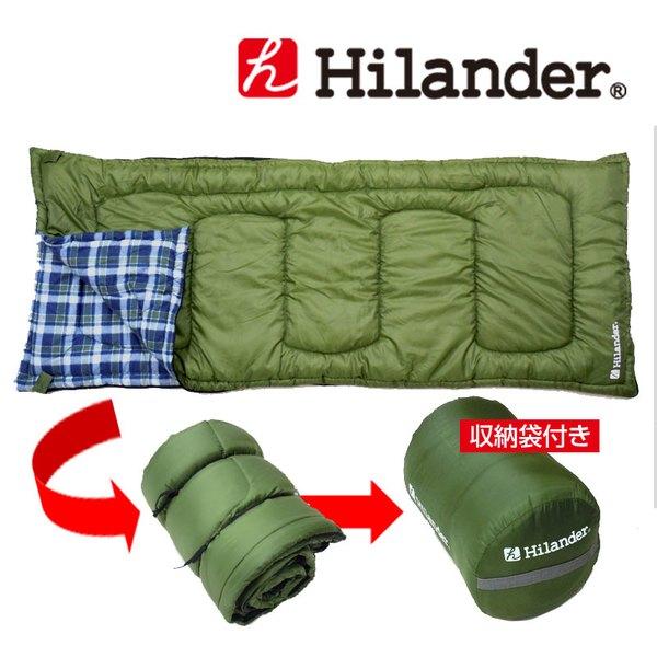 Hilander(ハイランダー) 封筒型シュラフ +5 HCA0064 スリーシーズン用