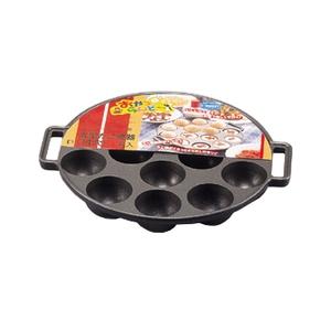 【送料無料】パール金属 ふっ素樹脂加工おやつらんど 丸型たこ焼器14穴 D-647