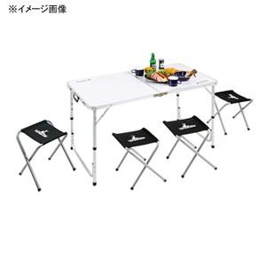 キャプテンスタッグ(CAPTAIN STAG)ラフォーレ テーブル・チェアセット(4人用)