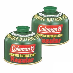 Coleman(コールマン) 純正LPガス燃料[Tタイプ]230g【お得な2点セット】 5103A230T