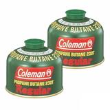 Coleman(コールマン) 純正LPガス燃料[Tタイプ]230g【お得な2点セット】 5103A230T キャンプ用ガスカートリッジ