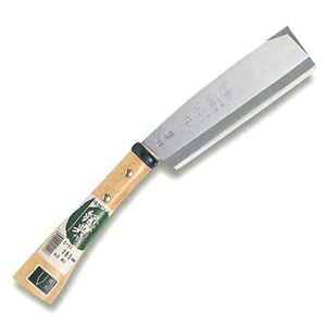 鋼典(Kanenori) 鋼付両刃鞘鉈 180mm C-14