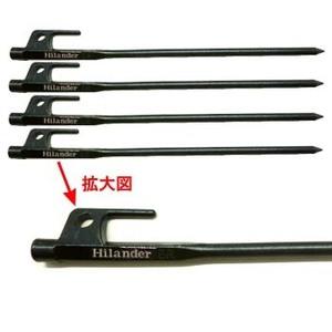 Hilander(ハイランダー)頑丈ペグ 30 4本セット