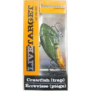 ライブターゲット(LIVE TARGET) クローフィッシュ TRAP 2 1/2インチ グリーンオレンジ CV64SK309
