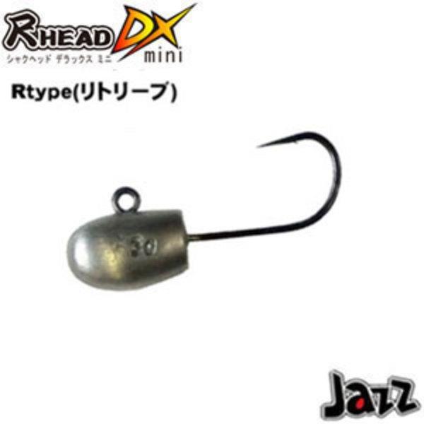 Jazz(ジャズ) 尺HEAD(シャクヘッド) DX mini R type 5ヶ入り ワームフック(ライトソルト用)