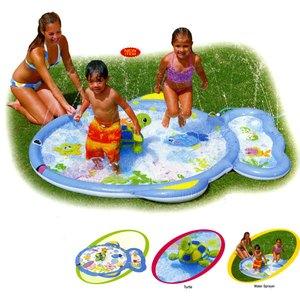 インテックス ファンフィッシュプレイセンター 子供用プール 213×178cm #57458 ビーチ・プール用品