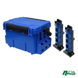 ★バケットマウスBM−7000+ロッドスタンドBM−280 2本組みセット★ 28L ブルー