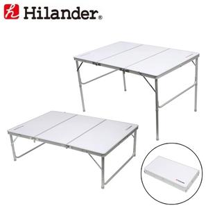 Hilander(ハイランダー) 三つ折りキャンプテーブルII 120×80 HCA2008 キャンプテーブル