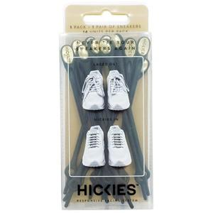 HICKIES(ヒッキーズ) HICKIES(ヒッキーズ) 結ばない靴ひも ゴム製シューレース エレメンツ BLACK/GOLD(ブラック/ゴールド)