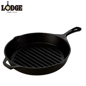 【送料無料】LODGE(ロッジ) グリルパン 10-1/4 L8GP3 19240034000010