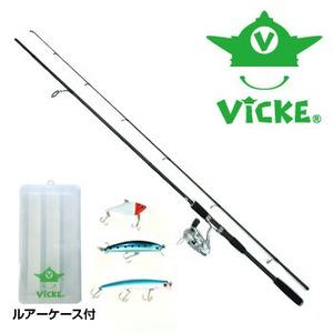 Vicke(ヴィッケ) シーバス釣り入門セット VSBS-1 8フィート以上