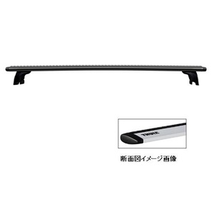 【送料無料】THULE(スーリー) ウィングバー ブラック 108cm ブラック TH960B