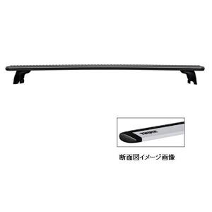 【送料無料】THULE(スーリー) ウィングバー 118cm ブラック TH961B