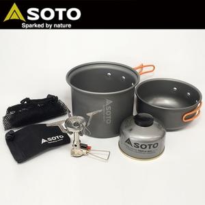 【送料無料】SOTO アミカススターターキット L L SOD-320SKL