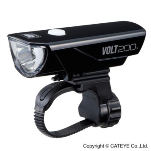 キャットアイ(CAT EYE) HL-EL151RC VOLT200 USB充電式 HL-EL151RC BK ライト