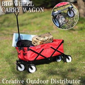 Creative Outdoor Distributor(クリエイティブアウトドア)ビッグホイールキャリーワゴン(極太タイヤ)