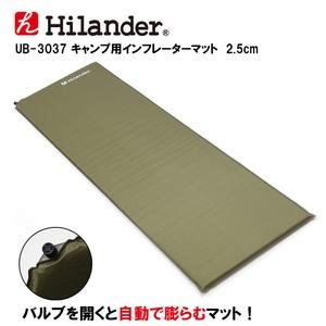 Hilander(ハイランダー)キャンプ用インフレーターマット 2.5cm