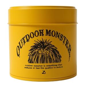 Lock(ロック) OUTDOOR MONSTER茶缶 イエローxブラック TEA-002