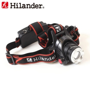 Hilander(ハイランダー) 225ルーメンLEDヘッドライト 最大225ルーメン 単四電池式 MK-04 ヘッドランプ