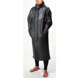 【送料無料】Spyderflex(スパイダーフレックス) スキンコート マリンスポーツ用防寒・防水フード付きコート XL BLACK SSC37116