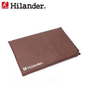 Hilander(ハイランダー) キャンプ用スエードインフレータークッション UK-4 ざぶとん