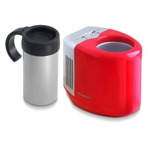 【送料無料】Dometic(ドメティック) 保温/保冷 3電源式缶クーラー 専用マグカップ付き ホット/クール 冷蔵庫 レッド 8401674