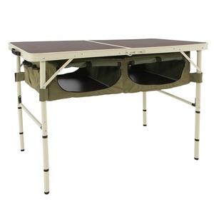 【送料無料】D.O.D(ドッペルギャンガーアウトドア) グッドラックテーブル GOOD RACK TABLE カーキ/ベーシュ TB4-501