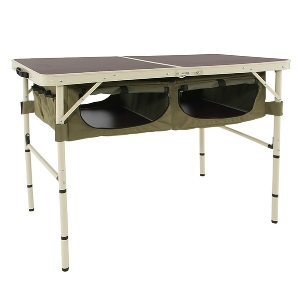 DOD(ディーオーディー) グッドラックテーブル GOOD RACK TABLE TB4-501 キャンプテーブル