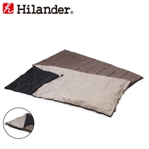 Hilander(ハイランダー) 2in1 洗える3シーズンシュラフ(5℃&15℃対応) UK-7