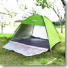 DABADA(ダバダ) ゆったり大きめサンシェード 200×200cm   グリーン