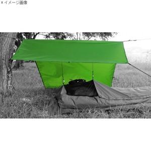 【送料無料】イスカ(ISUKA) オープンエア ウルトラライトタープ グリーン 209602