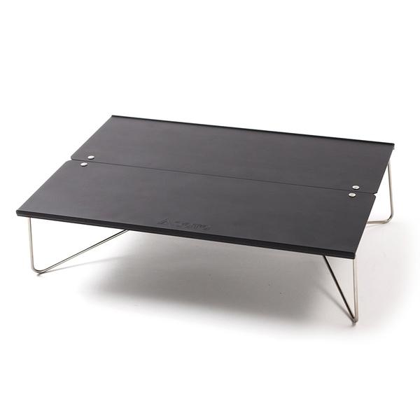 SOTO ポップアップソロテーブル フィールドホッパー【ナチュラム別注カラー】 ST-630MBK コンパクト/ミニテーブル