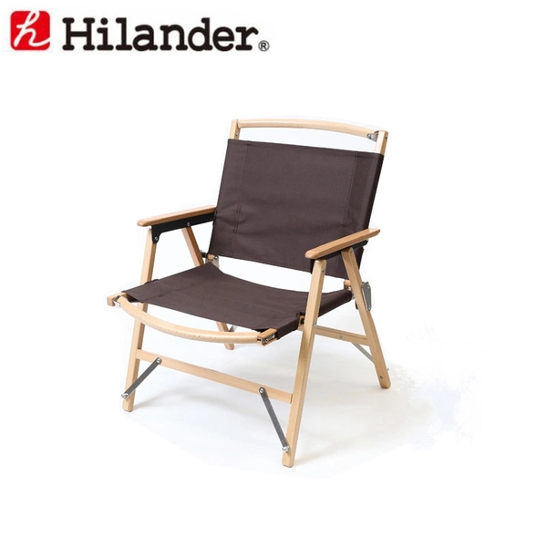 Hilander(ハイランダー) ウッドフレームチェア(WOOD FRAME CHAIR) HCA0171 座椅子&コンパクトチェア