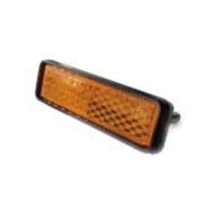 MKS(三ヶ島製作所) Pedal reflectorsets ペダルリフレクターセット ブラック/オレンジ Pedal eflectorsets