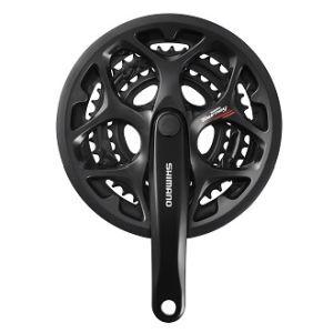 シマノ(SHIMANO/サイクル) EFCA073C090C クランクセット ガード付 170mm 50/39/30T 21900730