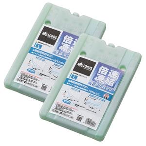 ロゴス(LOGOS)倍速凍結・氷点下パックL×2【お得な2点セット】