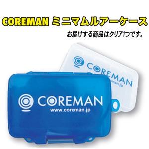 コアマン(COREMAN) ミニマムルアーケース #001 クリア