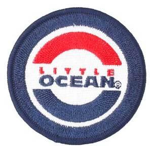 <ナチュラム> リトルオーシャン(LITTLE OCEAN) LO ワッペン 直径6.5cm ダークブルー(DKB) OA-14