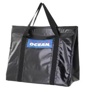 10%OFF <ナチュラム> リトルオーシャン(LITTLE OCEAN) LO ウエーダーバッグ69 ブラック(BK) OB-08