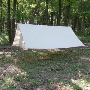 Bush Craft(ブッシュクラフト) たき火タープ 02-06-tent-0016 ウィング型(ポール:1~2本)